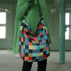 na ramię torba iks vegan mozaika