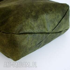 zielone na ramię vegan iks zieleń czerń