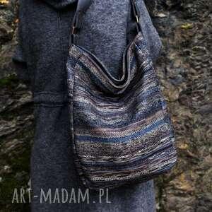ręcznie wykonane na ramię navaho iks vege szary grafit