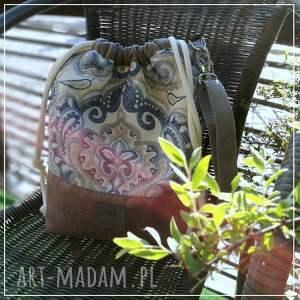 ręczne wykonanie na ramię torebka na india torba worek