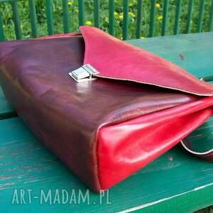 czereśnia na ramię czerwone józefina czereśniowa torba a4