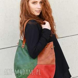 na ramię torebka miejska kolorowa torba