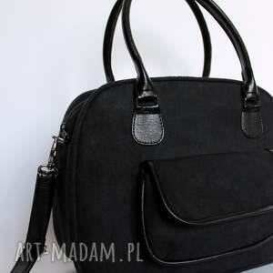 pod choinkę prezent elegancka kuferek z kieszonką - czarny