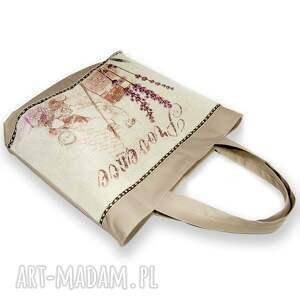 ehomi na ramię: Lawendowa torebka, torba
