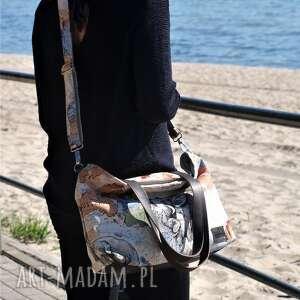 na ramię torba na lekka i poręczna z wzorem