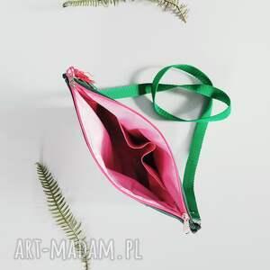 listonoszka na ramię zielone arbuzowa