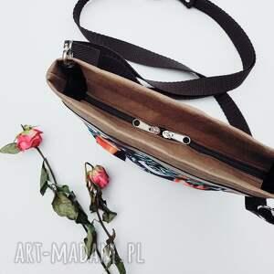 czarne na ramię torebka listonoszka z papieru