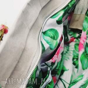 listonoszka na ramię różowe z papieru maxi