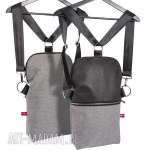 torebka na ramię listonoszko - plecak mały