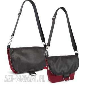 torebka na ramię listonoszko-plecak mały