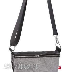 na ramię torebka listonoszko - plecak mały