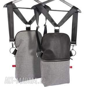 frapujące na ramię torebka listonoszko-plecak mały