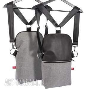 wyjątkowe na ramię torebka listonoszko-plecak mały