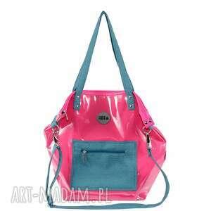 na ramię torba-damska malinowa torba damska
