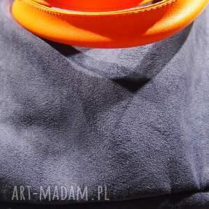 pomarańczowe na ramię granat mana xl granat&orange