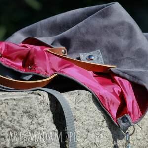 różowe na ramię torba mana mouse