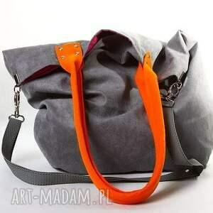 unikatowe na ramię torba mana mysza orange