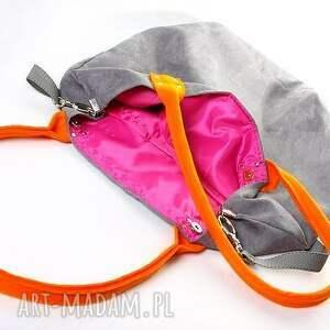 pomarańczowe na ramię torba mana mysza orange