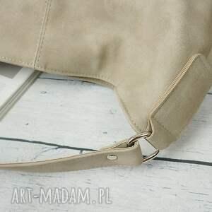 urokliwe na ramię torebka manzana duży worek z kokardą muflon