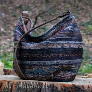 na ramię bohemian mini sak vege navaho brąz