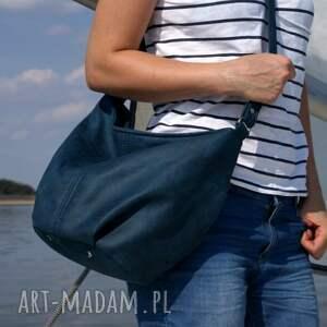 intrygujące na ramię torebka mini sak vegan morski