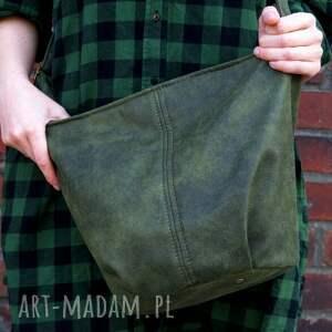 torebka na ramię mini sak vege zieleń