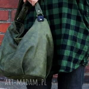 eleganckie na ramię torebka mini sak vege zieleń