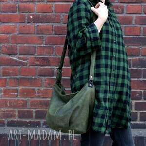zielone na ramię torba mini sak vege zieleń