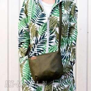 na ramię torebka mini vegan zieleń