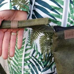 gustowne na ramię torebka mini vegan zieleń