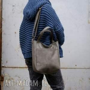 vegan na ramię zgrabna i bardzo pojemna torba (swobodnie