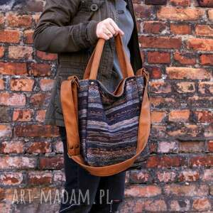 ciekawe na ramię torebka miniks vege navaho rudy