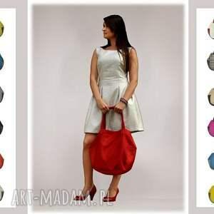 trendy na ramię torby-młodzieżowe 24-0011 niebieska torebka damska
