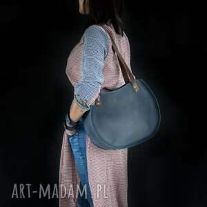 awangardowe na ramię torebka z-zamkiem oryginalna torba ręcznie