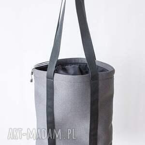 szare na ramię miejska piankowa torba shades of grey