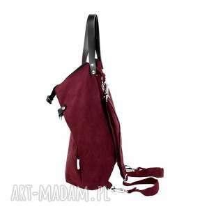 dc3d0a3f080b8 ... 2 in 1 bakłażan. ręczne wykonanie na ramię plecak torba ...