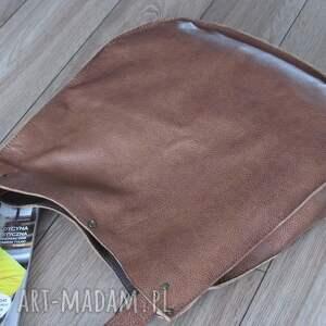 wyjątkowe na ramię brązowatorba pojemna torba hobo z brązowo
