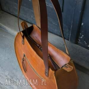 ręcznie wykonane na ramię torba do pracy torebka skórzana wykonana