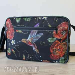 pomysł na prezenty świąteczne prezent single bag - maki i koliber