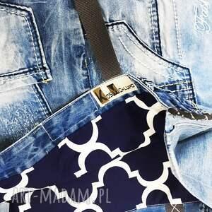 na ramię: duża torba upcykling jeans 21 kosmo
