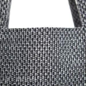 szare torba prostokątna w kolorze
