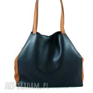 brązowe na ramię torebka rectangle bag