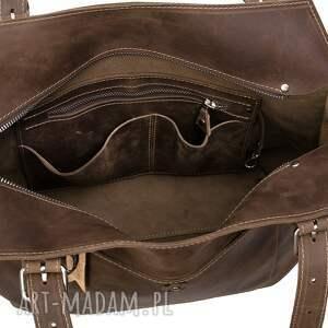 torebki na ramię ręcznie robiona skórzana torebka