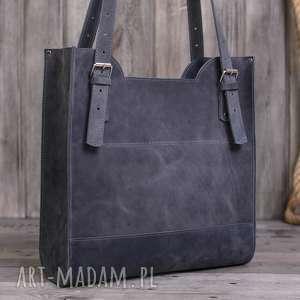 trendy na ramię kuferek ręcznie robiona skórzana torebka