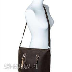 rękodzieło na ramię ręcznie robiona skórzana torebka