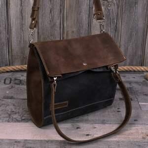 pomysł na prezent świąteczny skórzane torby ręcznie robiona skórzana torebka