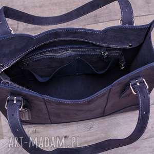 torebka na ramię ręcznie robiona skórzana