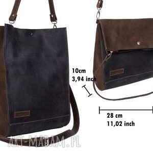 pomysł na prezent świąteczny torby na ramię ręcznie robiona skórzana torebka