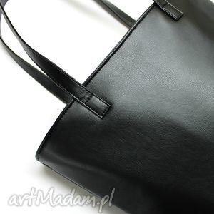 pomysł na święta prezent nowoczesna shopper bag bucket - czarny