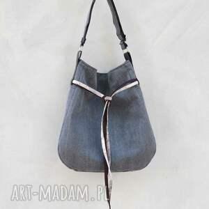 unikatowe na ramię worek simply bag - duża torba